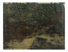 Henning Ryden, Oil On Canvas - Forest