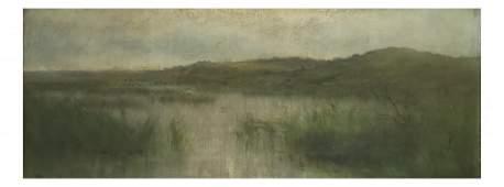 H Sunter Oil on Canvas  Marsh