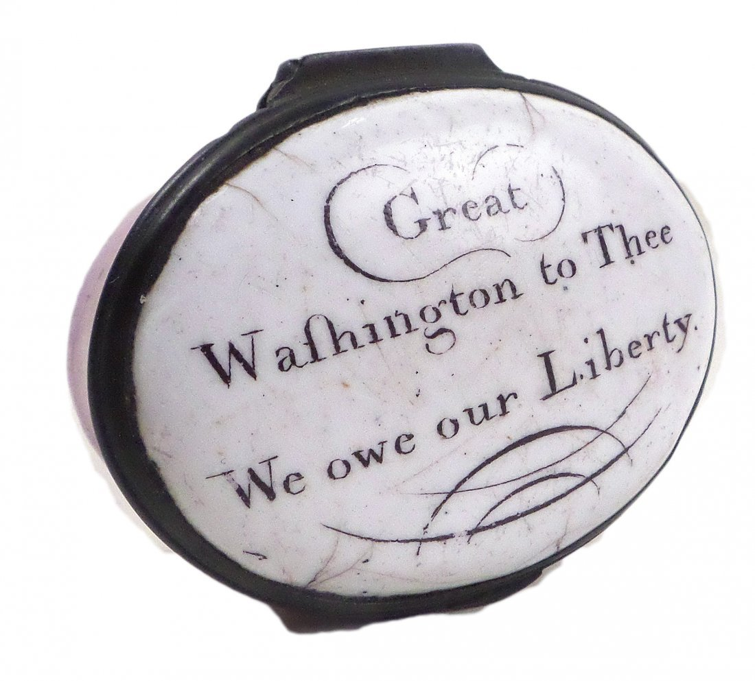 George Washington - Rare Battersea Box