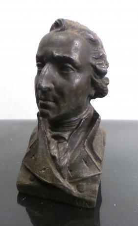 George Washington Zinc Bust