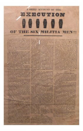 Andrew Jackson - Coffin Handbill 1828