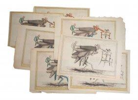 Andrew Jackson -  Seven Anti-Adams Illustrations
