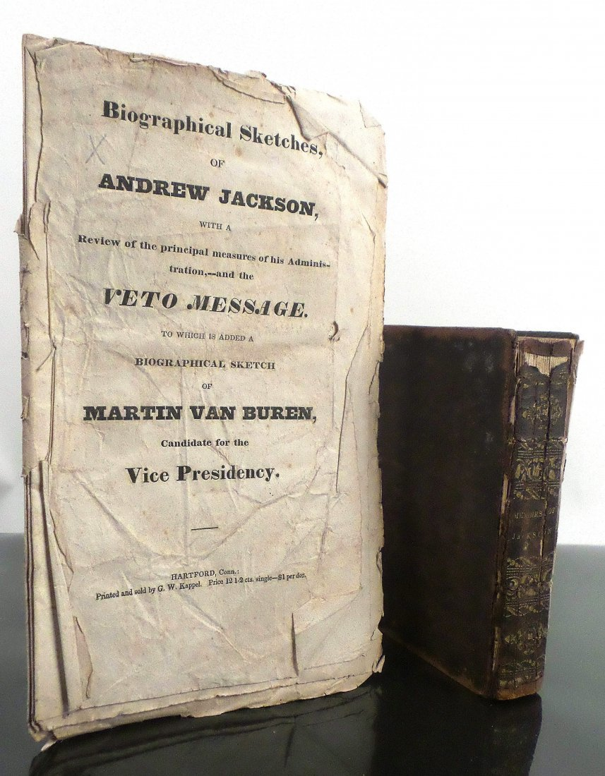 Andrew Jackson - Two Early Biographical Works