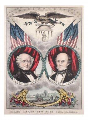 V. Buren & Adams - Grand National Banner
