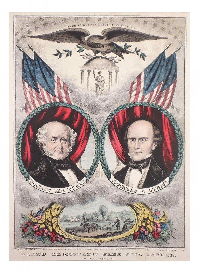 Van Buren & Adams - Grand National Banner Jugate