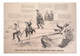 Lincoln 1860 Campaign - Bell Cartoon