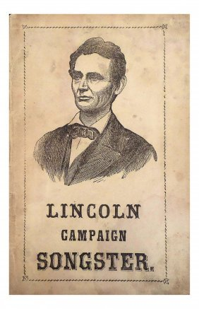 Abraham Lincoln - 1864 Campaign Songster