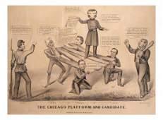 1864 Campaign - Anti-McClellan Cartoon