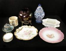 Group of Assorted Ceramic Articles