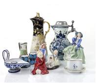 12 Porcelain and Earthenware Articles