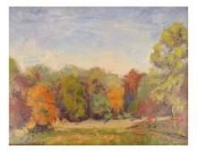 "R.W. Henry, ""Ft. Washington Fall Colors"""
