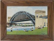 "Vestie E. Davis, ""Hell's Gate Bridge"""