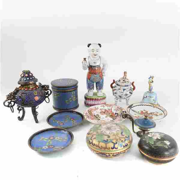 Group of 12 Chinese Decorations