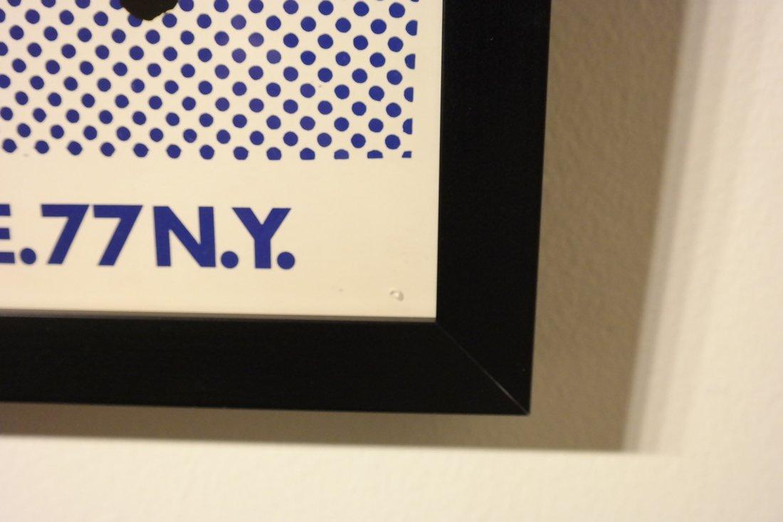 Roy Lichtenstein, 'Brushstroke', Exhibition Poster - 3