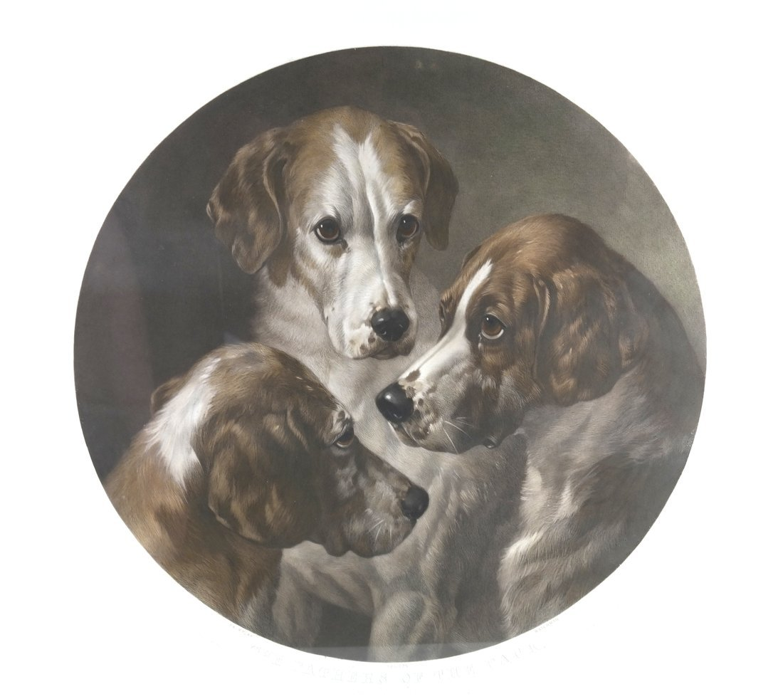 W.T. Davey, Engraving - Dogs