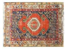 Turkish Hand-Woven Prayer Rug