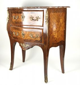 Louis Xv-style Inlaid Commode