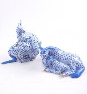 Herend, Hungary Porcelain Kangaroo&horse