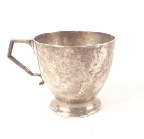 English Sterling Silver Cup