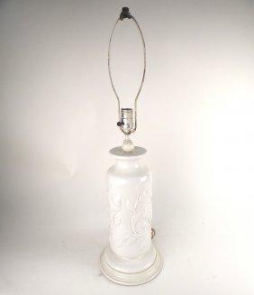 White Ceramic Lamp