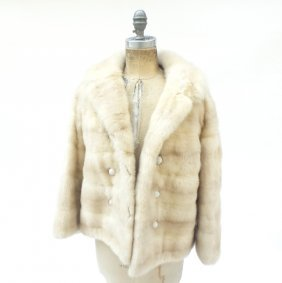 White Mink Women's Jacket