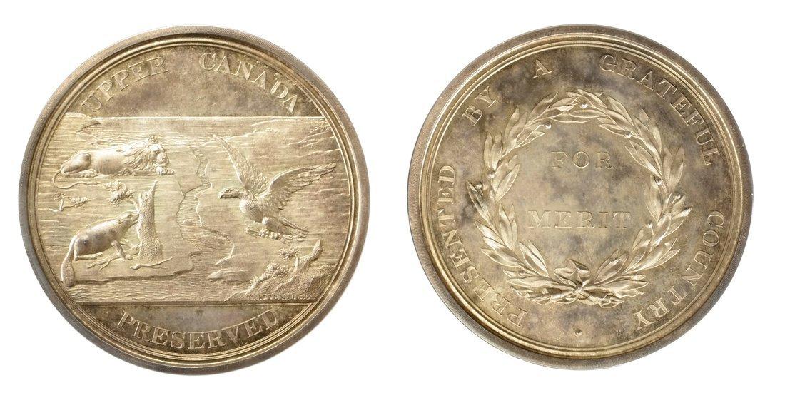 Upper Canada Preserved Silver Re-strike