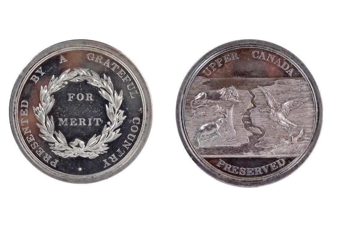 Upper Canada Preserved Silver Restrike