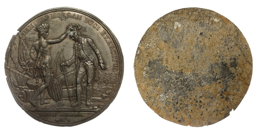1781 Victory at Cowpens Obverse Splasher