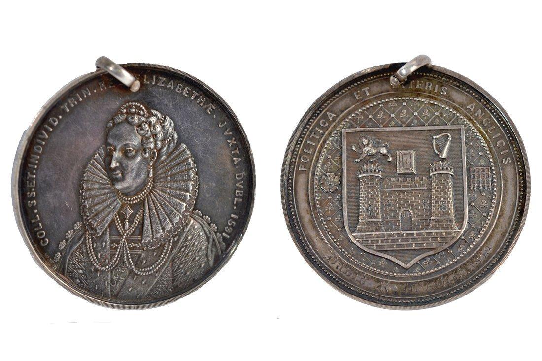 1858 Trinity College, Dublin Medal
