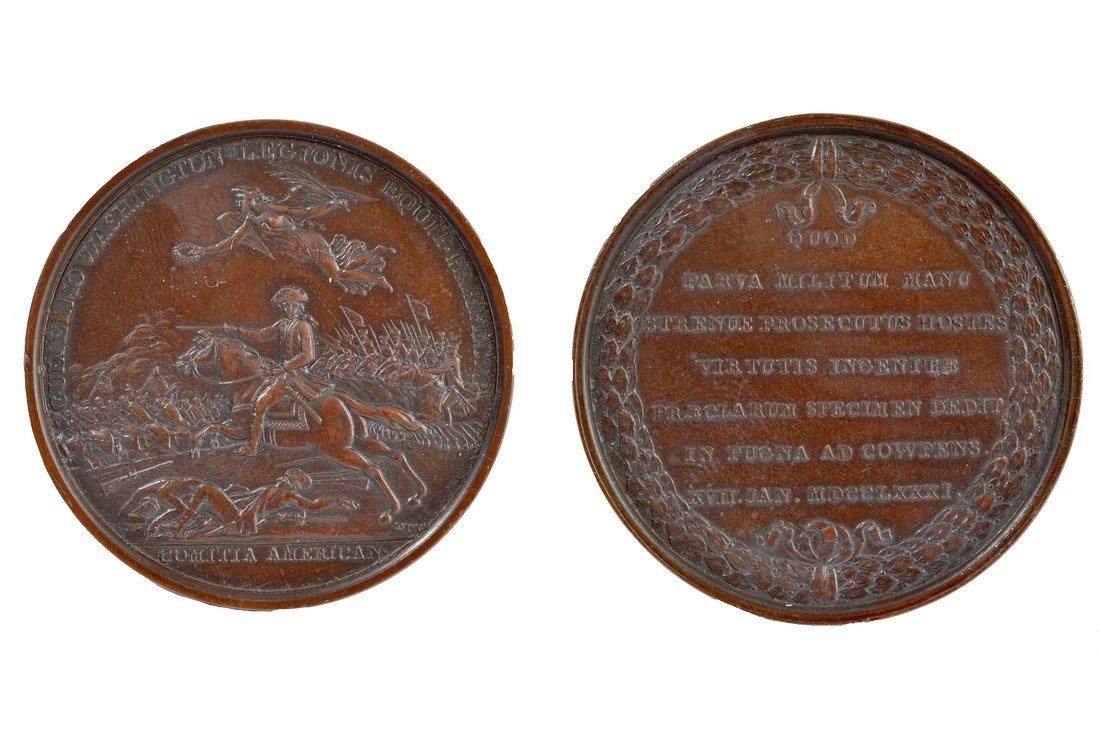 Re-strike William Washington Medal
