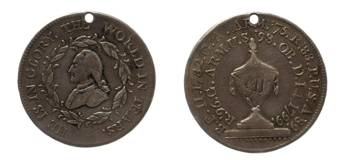 1799 Washington Funeral Urn Medal