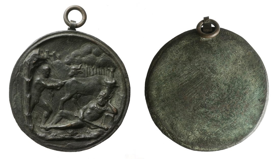 Renaissance-Style Bronze Medal