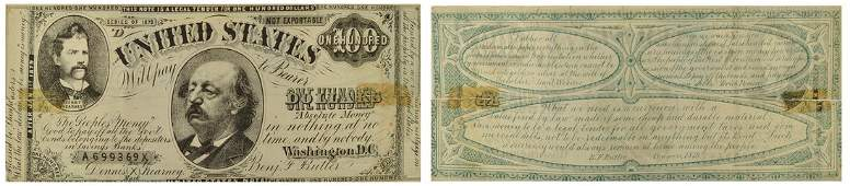 Greenback Party Damaged Notes