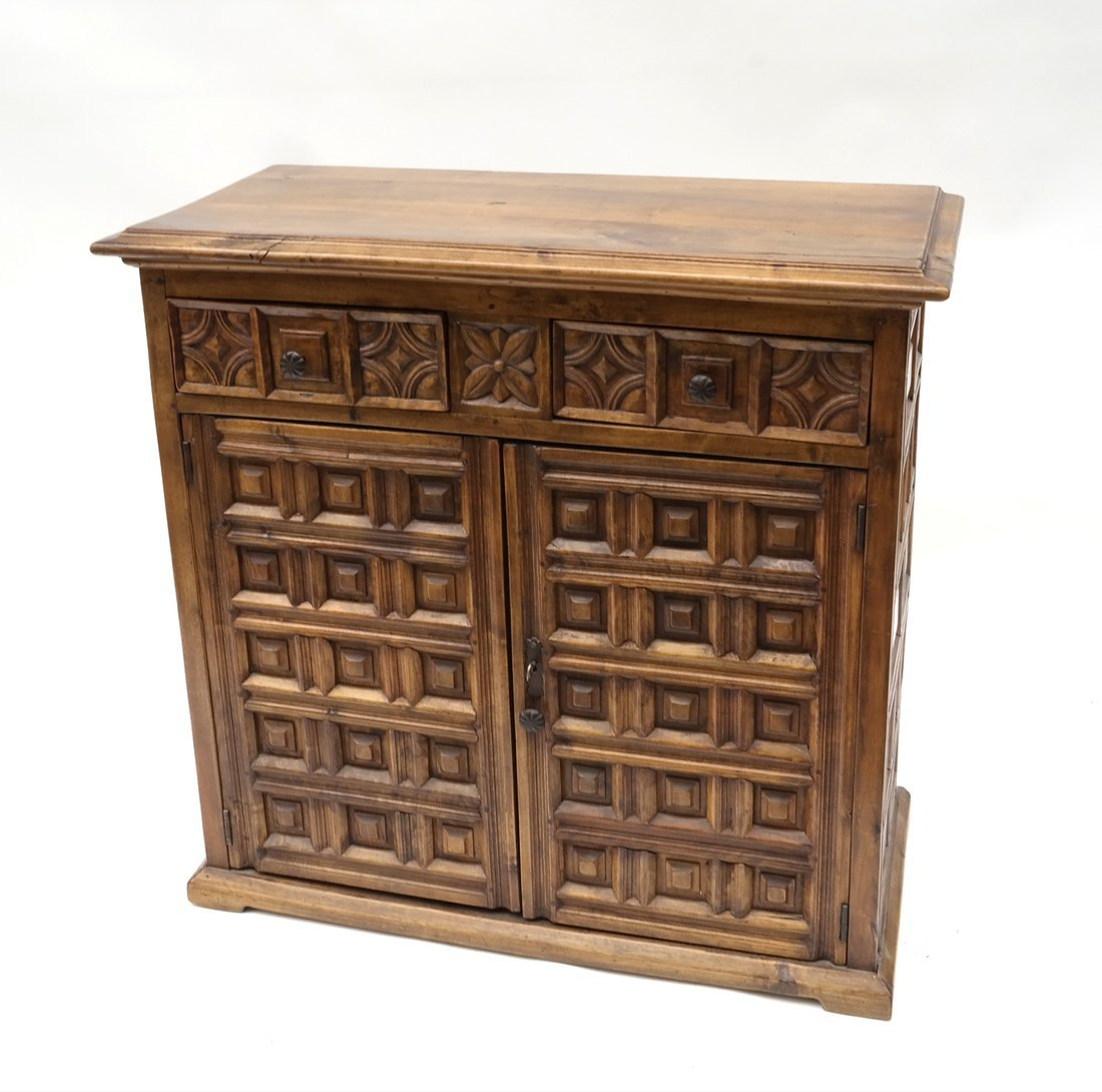 Continental Carved Cabinet