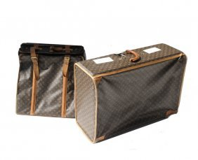 Two Pieces Of Louis Vuitton Luggage