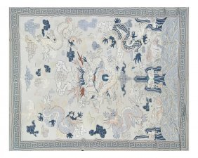 Chinoiserie Style Tapestry