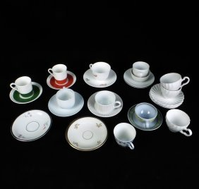 27 Assorted Cups And Saucers
