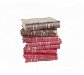 Eight Antique Books Including Dickens