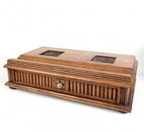 Antique Box, Assorted Wooden Parts