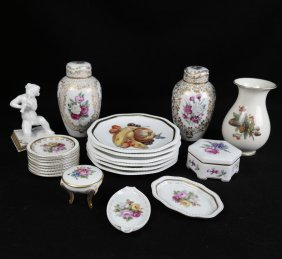 22 Assorted Rosenthal Porcelain Items