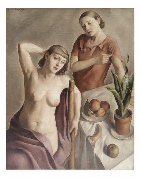 Robert Brackman, Young Women