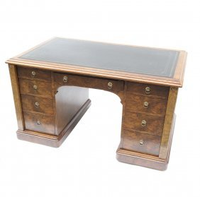English Side Lock Partners Desk