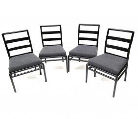 Set Of 4 Robsjohn-gibbings Side Chairs
