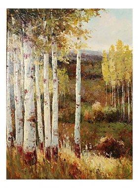 P. Jacobs, Landscape - Oil On Canvas