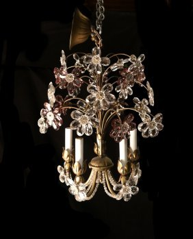 Crystal Bagues Chandelier