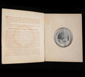 """G. Osbourne """"cleopatra"""" Medal"""