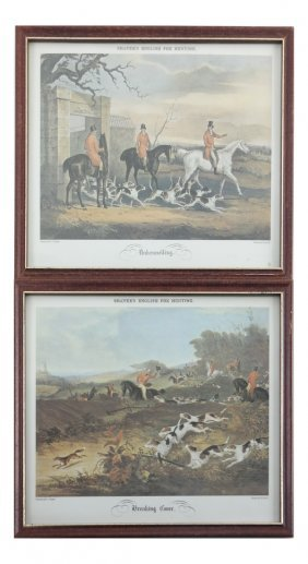 Pair Of Shayer Hunting Prints
