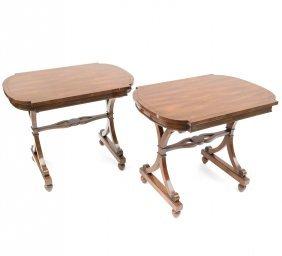 Pair Of Regency Style Tables