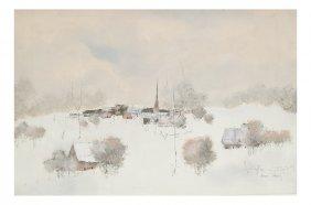 Andre Ingres, Winter Landscape