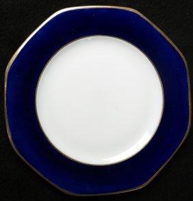 "12 Dessert Plates Crescent ""england"""